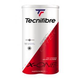 Tenisové míče Tecnifibre X-One Bipack (2x4 ks)