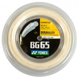 Badmintonový výplet Yonex Micron BG65 Amber (0.70 mm) - délka 200 m