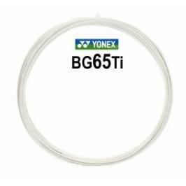 Badmintonový výplet Yonex Micron BG65Ti White (0.70 mm) - stříhaný