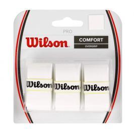 Omotávka na rakety vrchní Wilson Pro Overgrip White (3 ks)