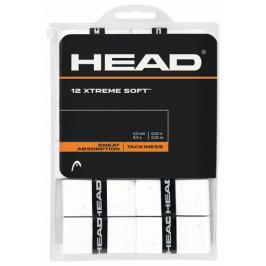 Omotávka na rakety vrchní Head Xtreme Soft White (12 ks)