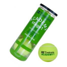 Dětské tenisové míče Tretorn Academy Green (3 ks)