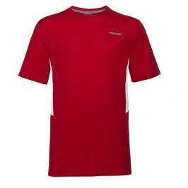 Pánské tričko Head Club Tech Red