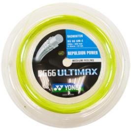 Badmintonový výplet Yonex BG 66 Ultimax Yellow (0.65 mm)  - ROLE 200 m