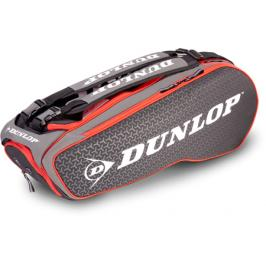 Taška na rakety Dunlop Performance 8 Racket Thermo Red