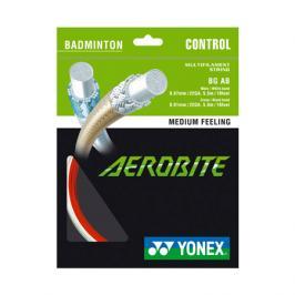 Badmintonový výplet Yonex Aerobite White/Red