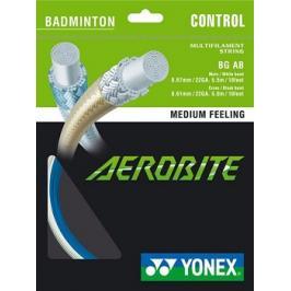 Badmintonový výplet Yonex Aerobite White/Blue