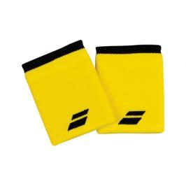 Potítka Babolat Logo Wristband Standard Yellow/Black (2 ks)