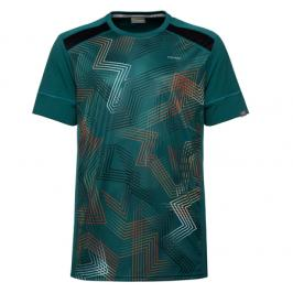 Pánské tričko Head Raquet Green/Red