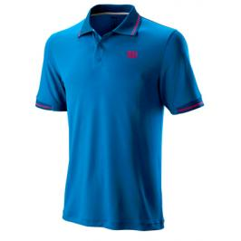 Wilson Star Tripped Polo Blue
