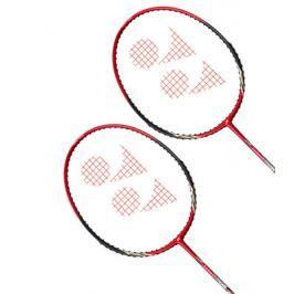Badmintonový set 2 ks raket Yonex Carbonex CAB-6000 N Red