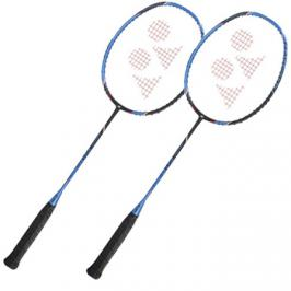 Set 2 ks badmintonových raket Yonex Voltric FB Black/Blue