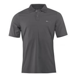 Pánské tričko Head Perfomance Polo Plain Anthracite
