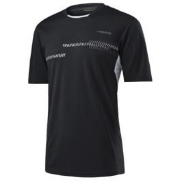 Pánské tričko Head Club Technical Black