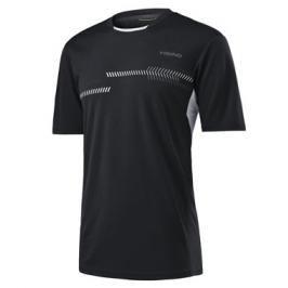 Dětské tričko Head Club Technical Black