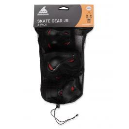 Inline chrániče Rollerblade Skate Gear Junior Black/Red