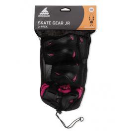 Inline chrániče Rollerblade Skate Gear Junior Black/Pink