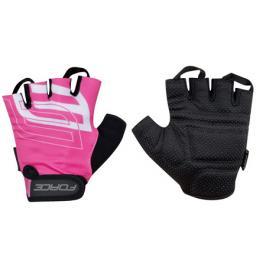 Cyklistické rukavice FORCE SPORT růžové