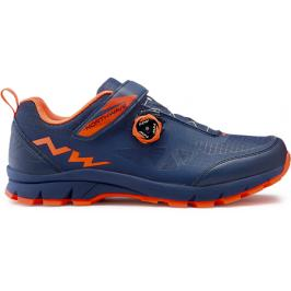MTB Northwave CORSAIR blue-lobster orange