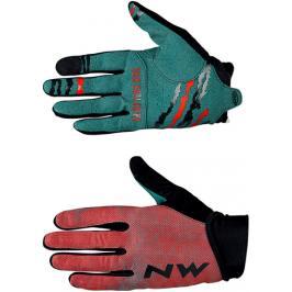 Dlouhoprsté cyklistické rukavice Northwave MTB Air 3 červené