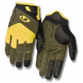 Dlouhoprsté cyklistické rukavice GIRO Xen olivové