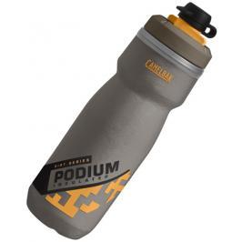 Láhev CamelBak Podium Dirt Series Chill 0.62l Grey/Orange