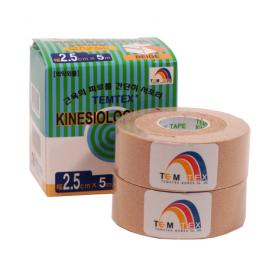Tejpovací páska TEMTEX Kinesio Tape Classic 2x 2,5 cm × 5 m