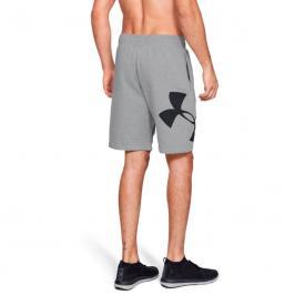 Pánské šortky Under Armour Rival Fleece Logo Sweatshort šedé