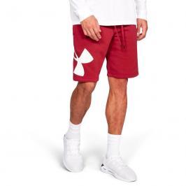 Pánské šortky Under Armour Rival Fleece Logo Sweatshort červené