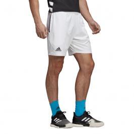 Pánské šortky adidas Escouade Short 7 White