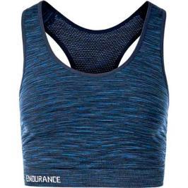 Sportovní podprsenka Endurance Civita Seamless tmavě modrá