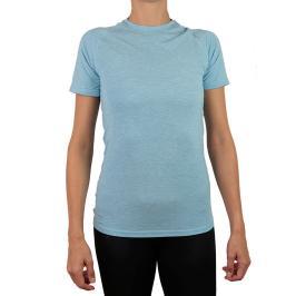 Dámské tričko Endurance Tearoa Wool SS světle modré