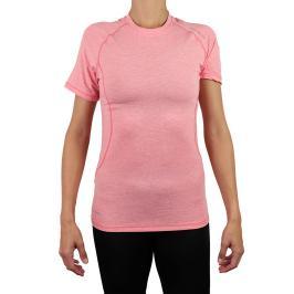 Dámské tričko Endurance Tearoa Wool SS růžovo-červené