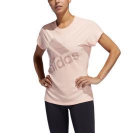 Dámské tričko adidas Logo Tee světle oranžové