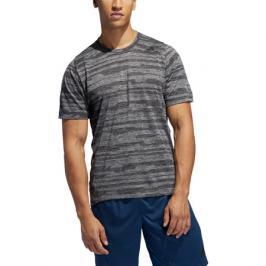 Pánské tričko adidas FL Tec černo-šedé