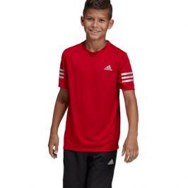 Dětské tričko adidas Run červené