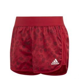 Dívčí šortky adidas Training Mar SH červené