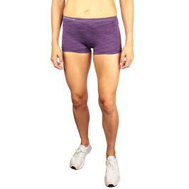 Dámské kalhotky Endurance Montesilvano Seamless Melange fialové