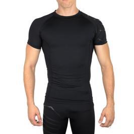 Pánské tričko Endurance Campeltown Compression SS Tee černé