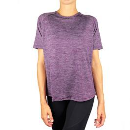Dámské tričko Endurance Athlecia Pasew Melange Seamless Tee fialové