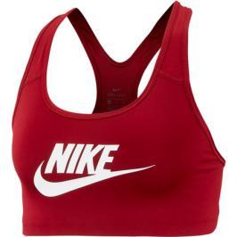 Sportovní podprsenka Nike Swoosh Futura Bra červená