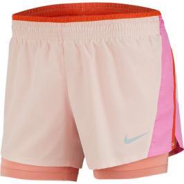 Dámské šortky Nike 10K 2in1 Short světle růžové