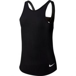 Dívčí tílko Nike Studio Soft Tank černé
