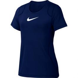 Dětské tričko Nike Pro Top SS modré
