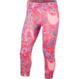 Dívčí legíny Nike One Tight Capri Femme růžové
