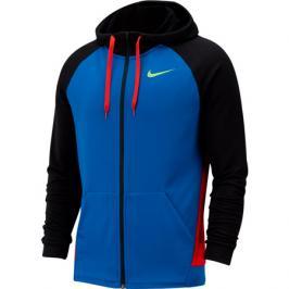 Pánská mikina Nike Dry Hoodie FZ Fleece modrá