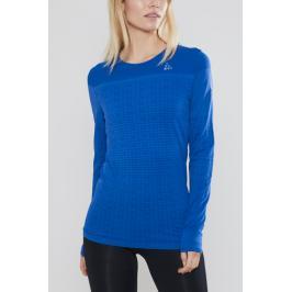 Dámské tričko Craft Urban Run Fuseknit LS modré