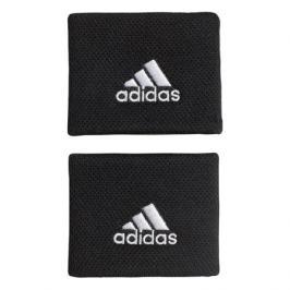 Potítka adidas Tennis Wristband Small Black/White (2 ks)