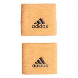 Potítka adidas Tennis Wristband Small Light Orange (2 ks)