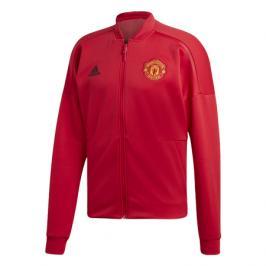 Pánská sportovní bunda adidas ZNE H Manchester United FC červená